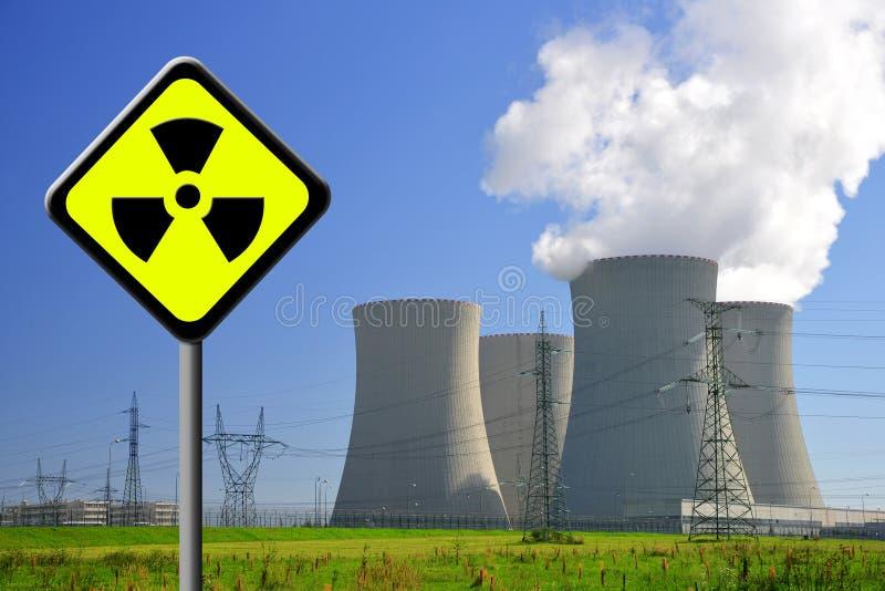 Kernenergieinstallatie royalty-vrije stock foto