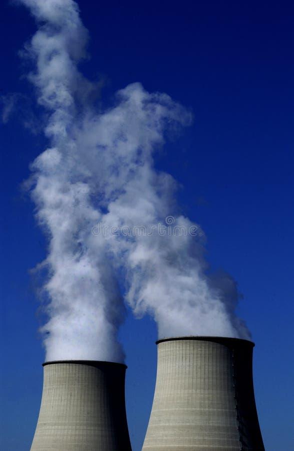 Kernkraftwerk stockfoto