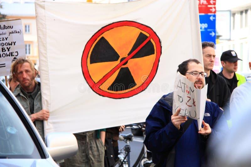 Kernprotest stockbilder