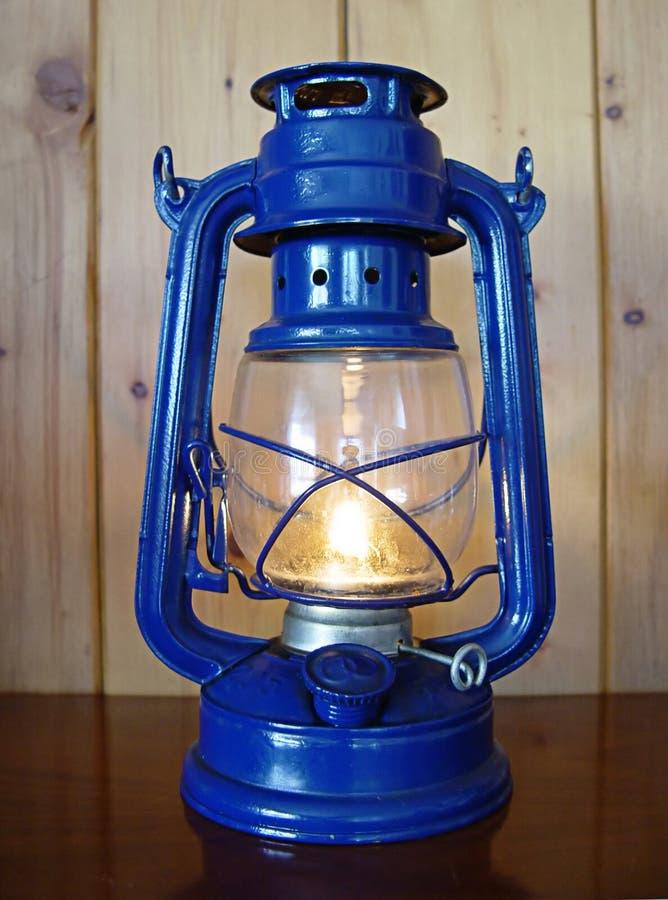 Download Kerosene lamp stock image. Image of painted, blue, darkness - 4086377