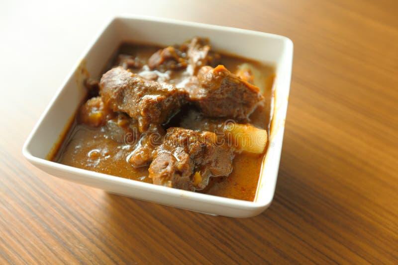 Kerrie, Indisch voedsel stock fotografie