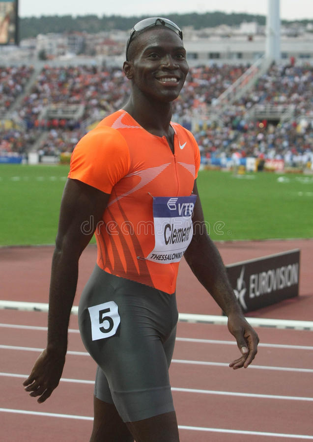 Download Kerron Clement editorial stock image. Image of 400m, high - 27772899