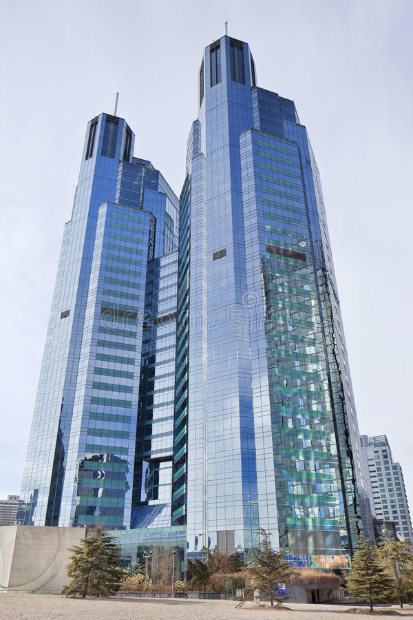 Free Kerry Centre Twin Towers, Beijing, China Royalty Free Stock Photography - 88450967