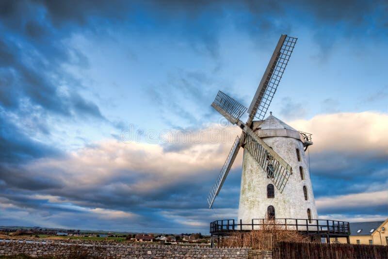 Kerry do Co. do moinho de vento de Blennerville - Ireland. fotografia de stock