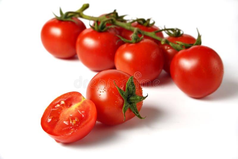Kers-tomaten royalty-vrije stock afbeelding