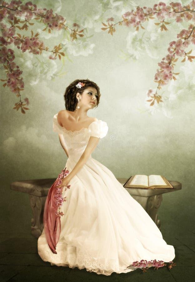 Kersenbloesems royalty-vrije illustratie