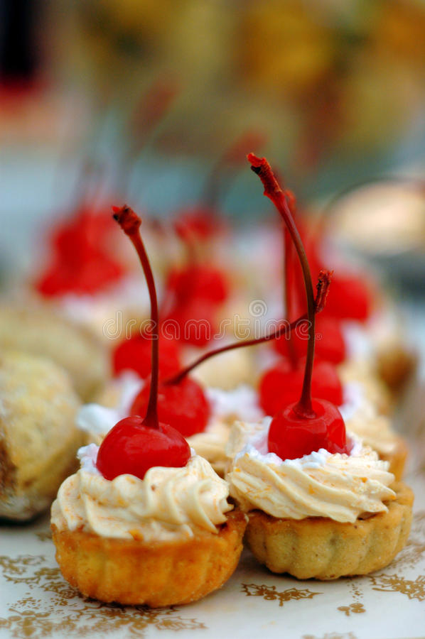 kersencakes stock foto
