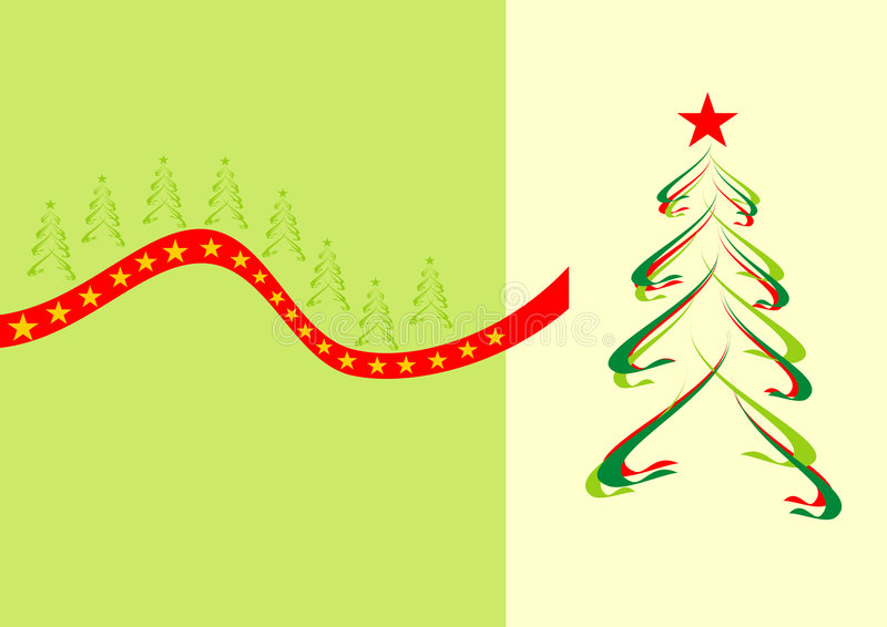 Kerstbomen vector illustratie