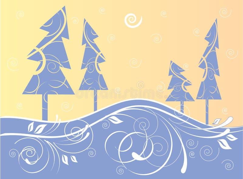 Kerstbomen vector illustratie