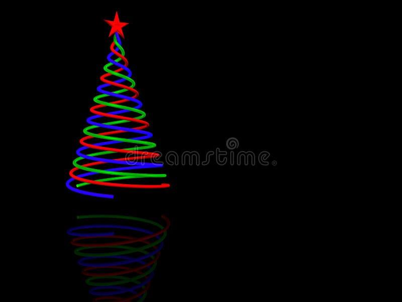 Download Kerstboom stock illustratie. Illustratie bestaande uit elegantie - 10780027