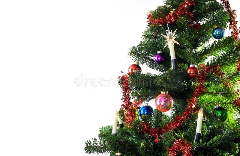 Kerstboom stock afbeelding