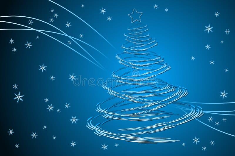 Kerstboom vector illustratie