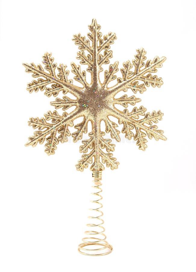 Kerstboom Topper royalty-vrije stock fotografie