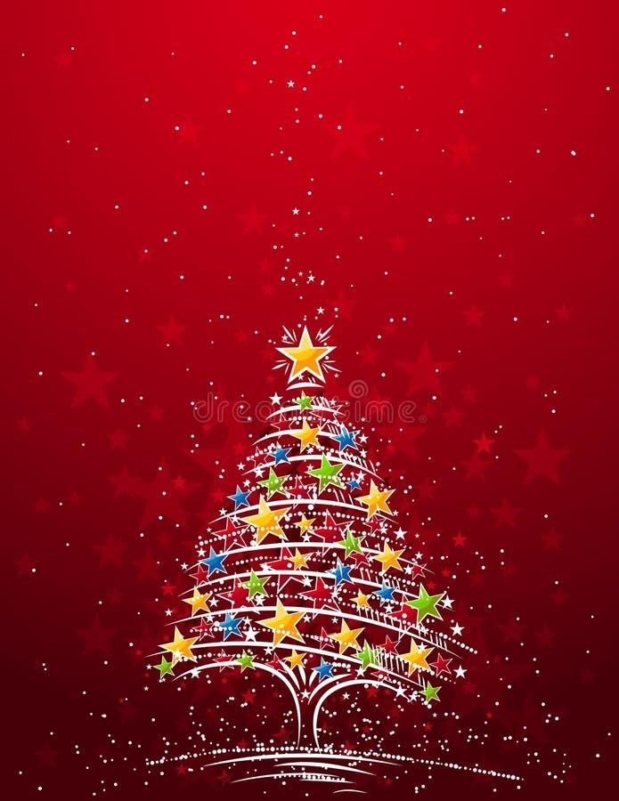 Kerstboom, vector vector illustratie