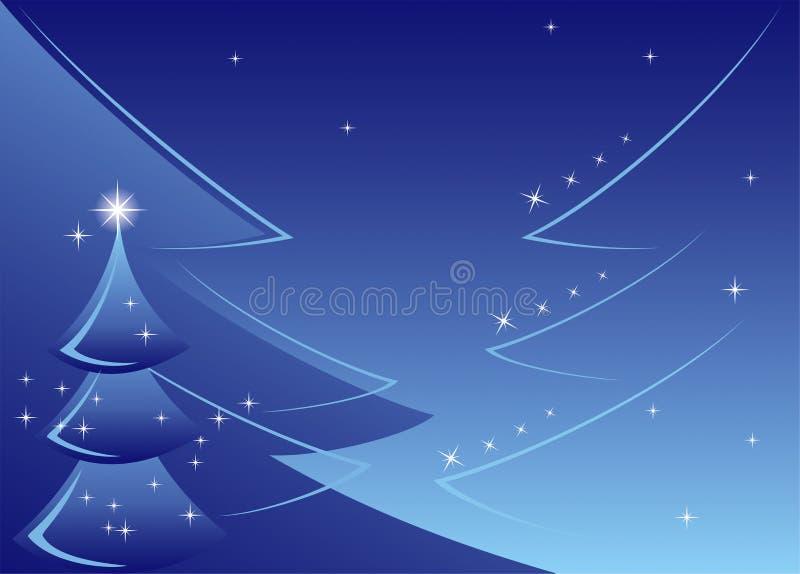 Kerstboomachtergrond royalty-vrije stock afbeeldingen