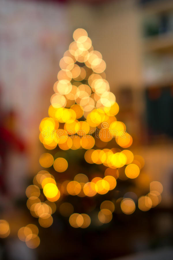 Kerstboomlichten stock foto