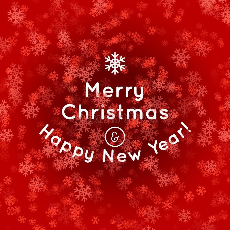 Kerstboomsilhouet van woorden royalty-vrije illustratie