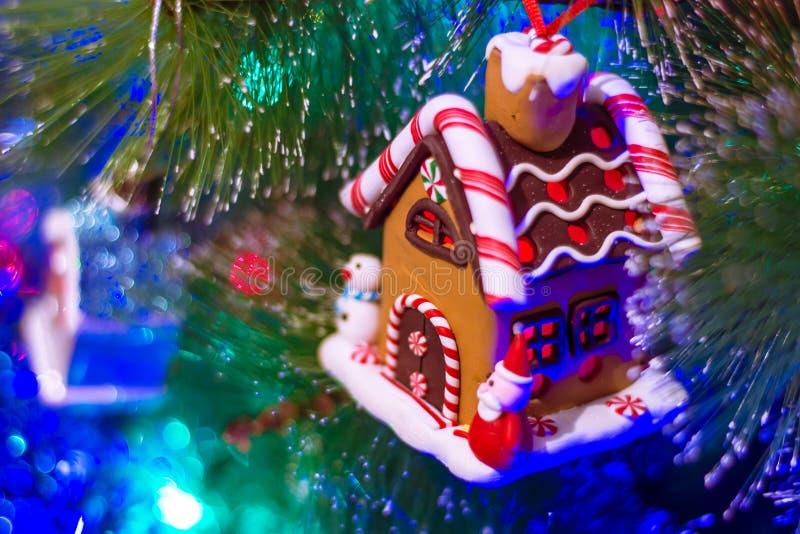 Kerstboomstuk speelgoed stock foto