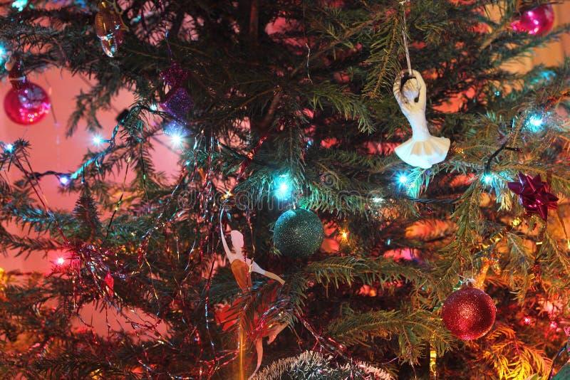 Kerstboomstuk speelgoed royalty-vrije stock foto