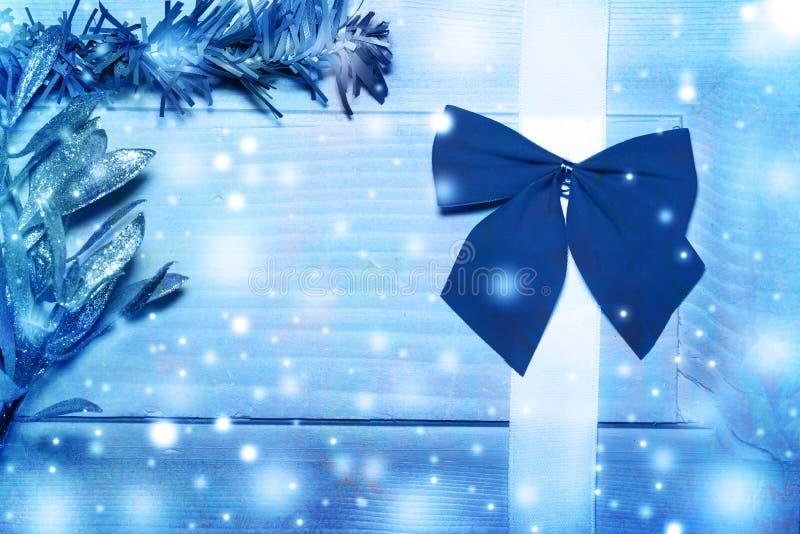 Kerstkaart, gestemde beelden vector illustratie