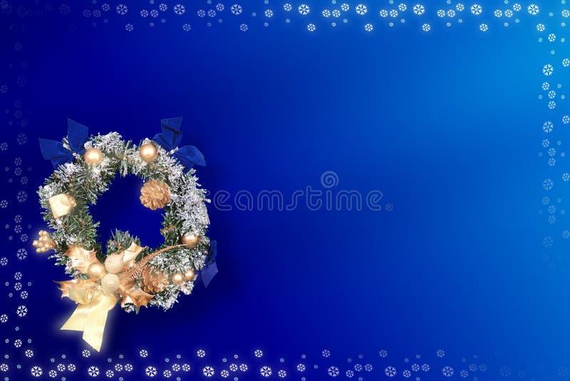 Kerstkaart Met Ruimte Voor Wensen Royalty-vrije Stock Foto's