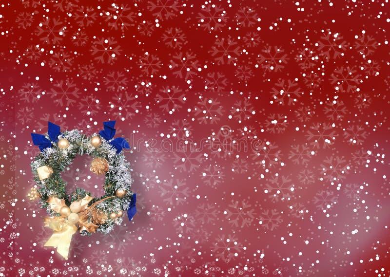 Kerstkaart Met Ruimte Voor Wensen Royalty-vrije Stock Afbeeldingen