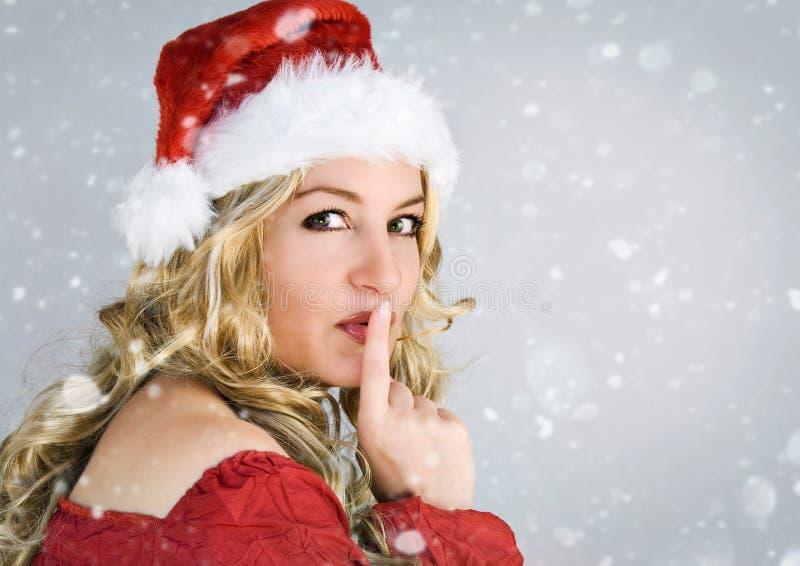 Kerstman 1 stock afbeelding