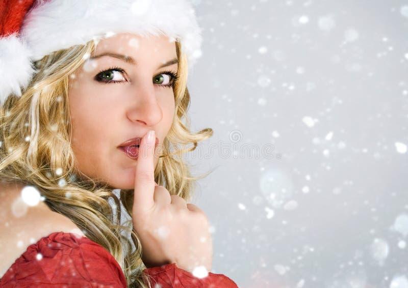 Kerstman 1_12 stock afbeelding