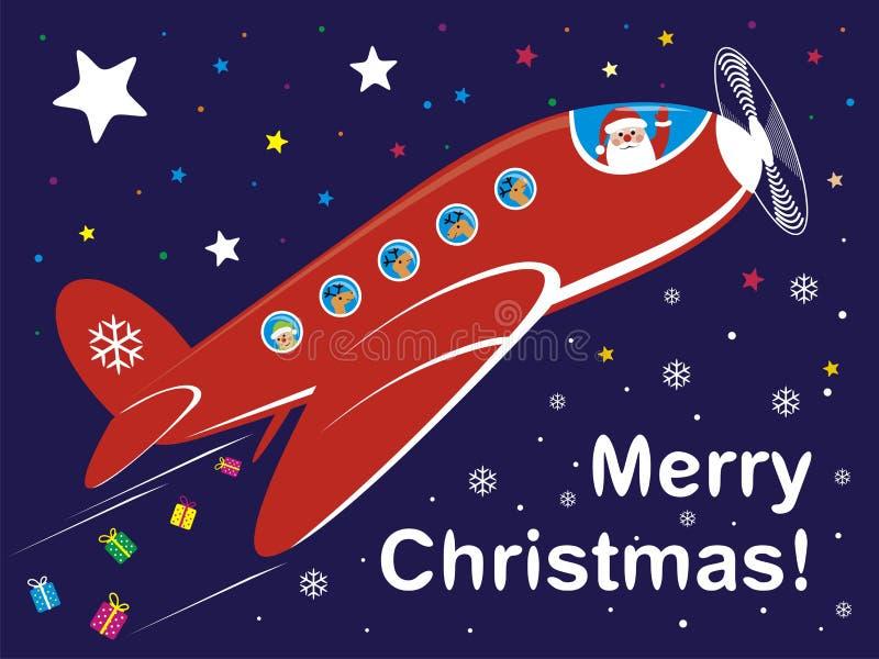 Kerstman royalty-vrije illustratie