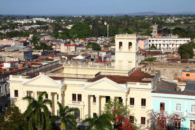 Kerstman Clara, Cuba stock fotografie
