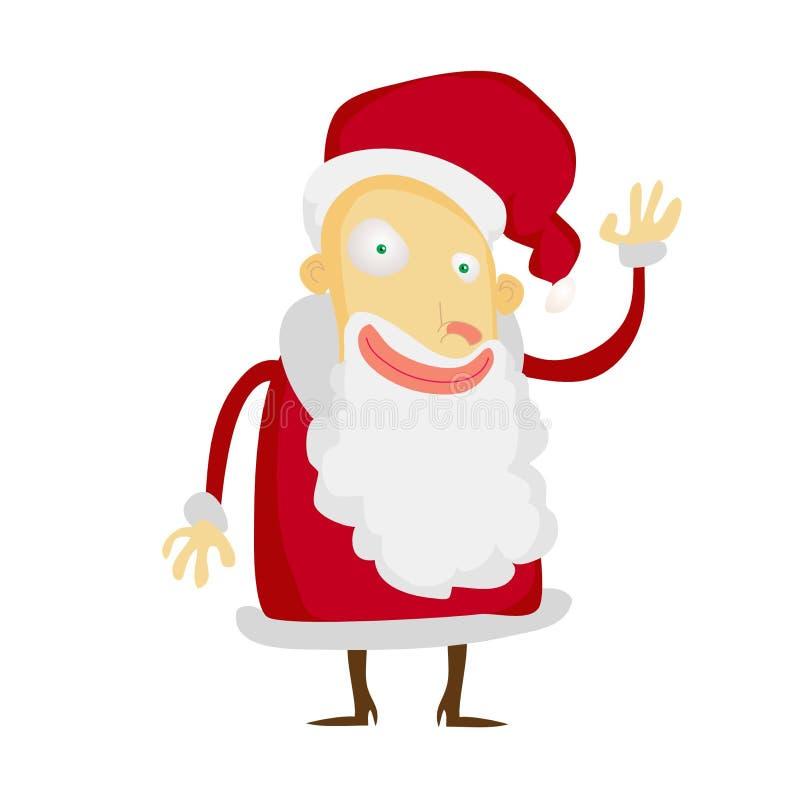Kerstman Klaus royalty-vrije stock afbeelding