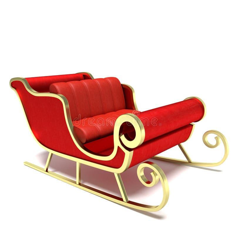 Kerstmanar stock illustratie