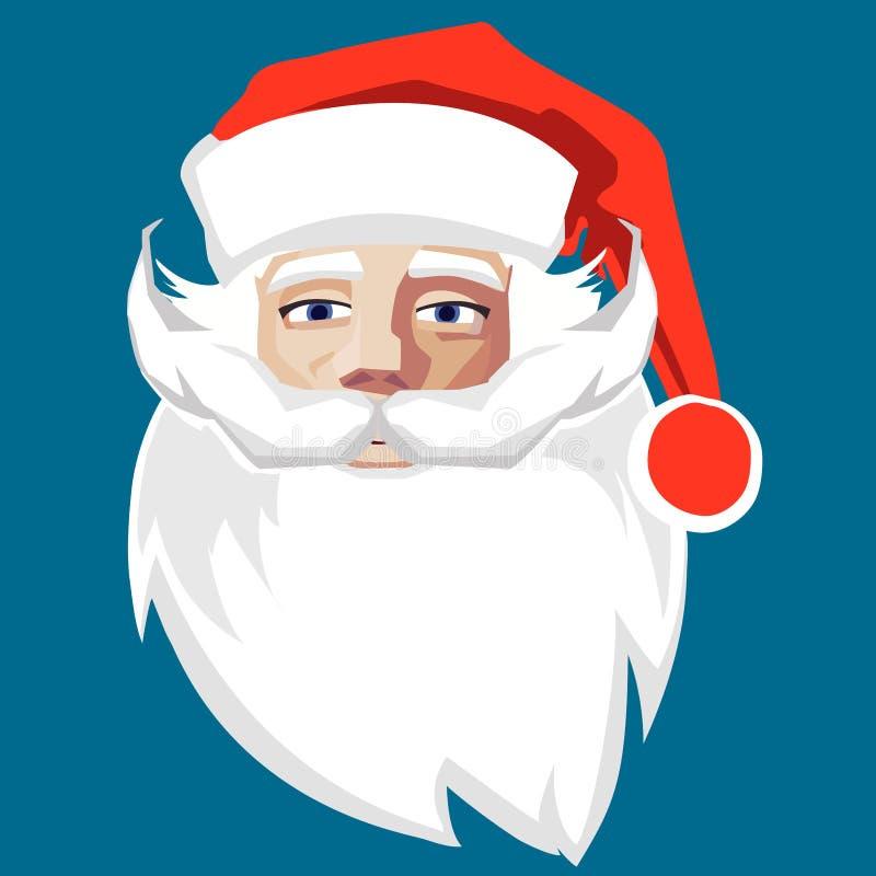 Kerstmanbeeldverhaal, viering, vrolijke Kerstmis, kinderen, ontwerp, stof, vriendschap, pret, geluk stock illustratie