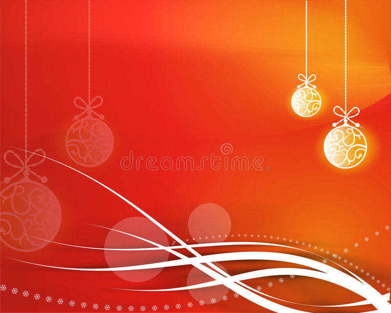 Kerstmis achtergrond stock illustratie