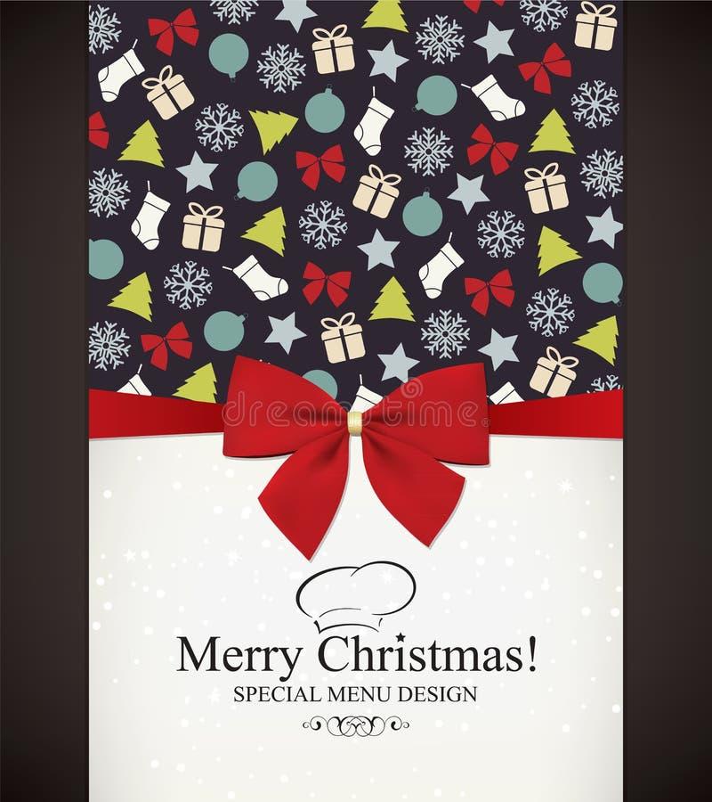 Kerstmis & Nieuwjaar royalty-vrije illustratie