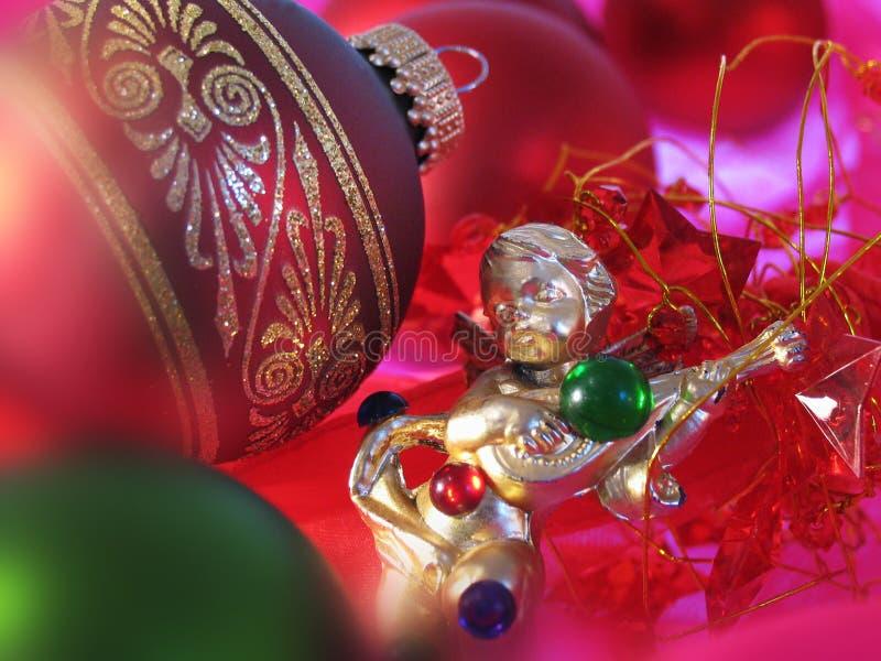 Kerstmis angel2 stock afbeelding