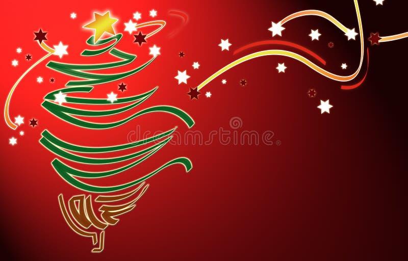 Kerstmis BG stock illustratie