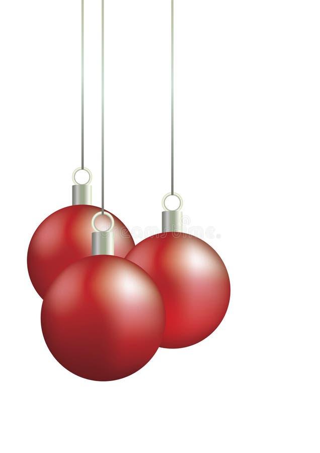 Kerstmis-boom decoratie stock illustratie