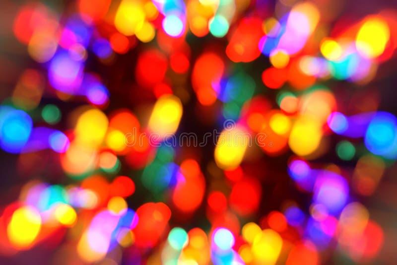 Kerstmis-boom Lichten royalty-vrije stock fotografie