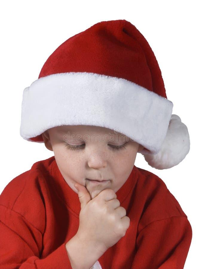 Kerstmis Boy#3 Stock Foto