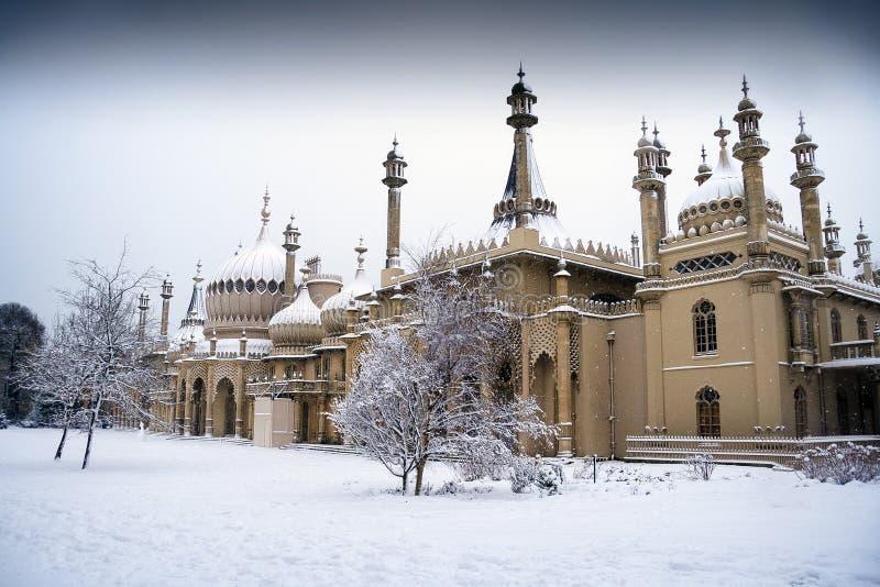 Kerstmis in Brighton royalty-vrije stock foto's