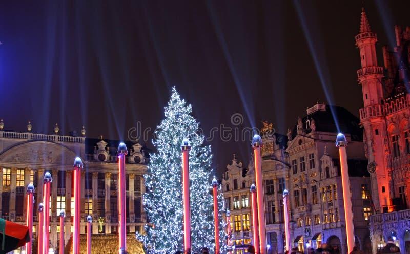 Kerstmis In Brussel (België) Redactionele Foto - Afbeelding ...
