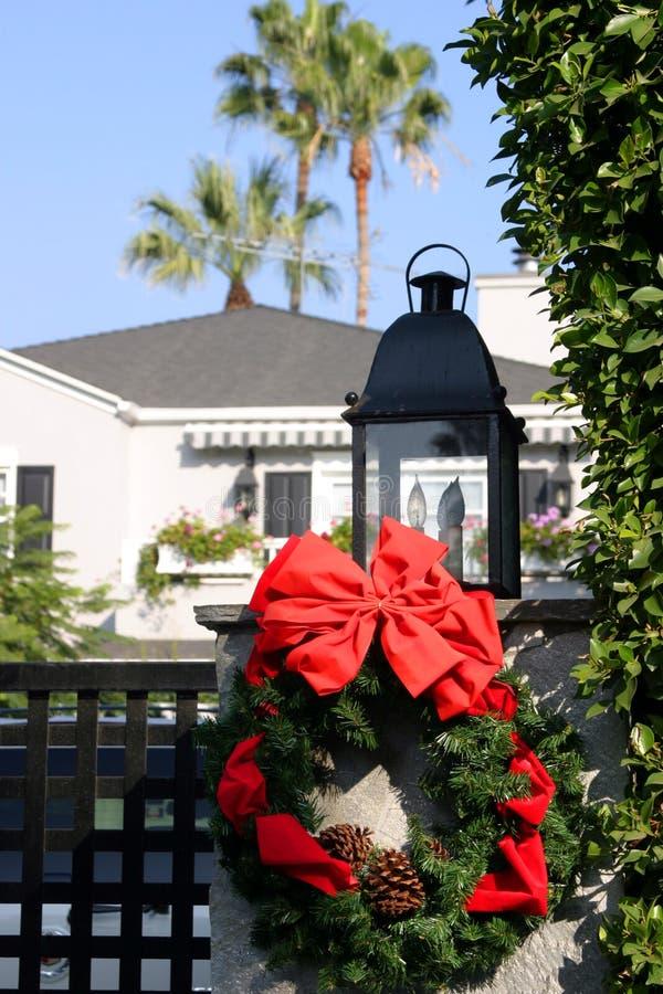 Kerstmis in Californië stock foto