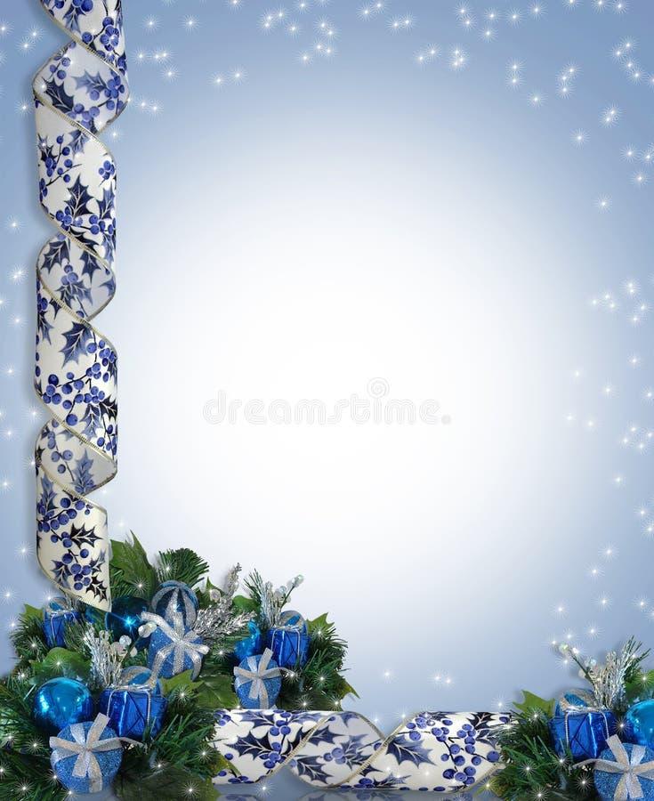 Kerstmis of de Achtergrond van de Chanoeka royalty-vrije illustratie