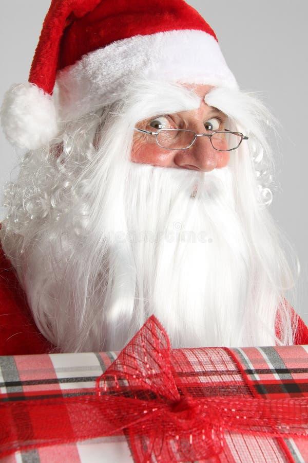 Kerstmis de Kerstman stock afbeelding