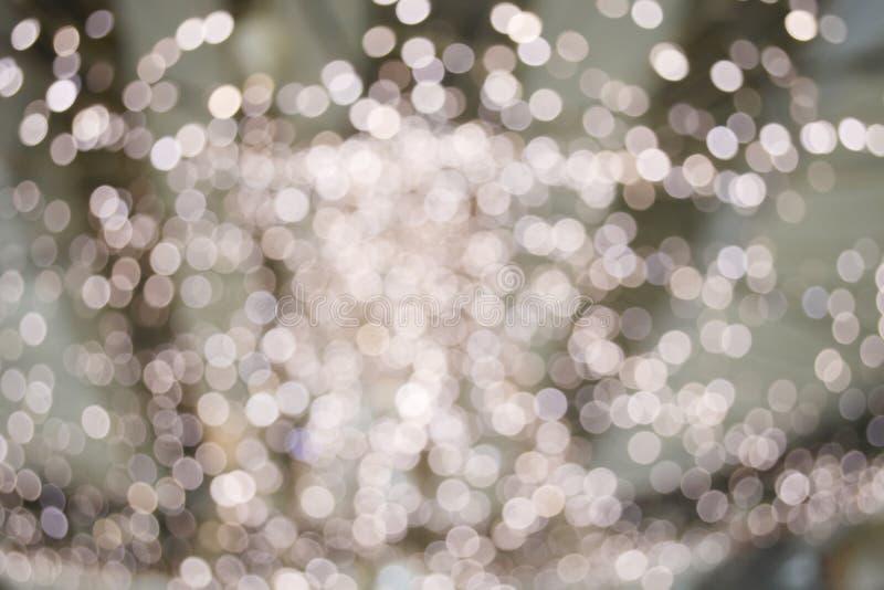 Kerstmis Defocused royalty-vrije stock foto