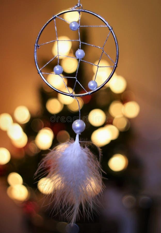 Kerstmis Dreamcatcher stock foto's