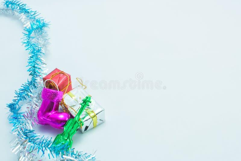 Kerstmis en een feestelijk nieuw jaar royalty-vrije stock foto