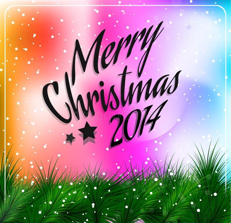 Kerstmis en nieuw jaar Als thema gehad kader royalty-vrije illustratie