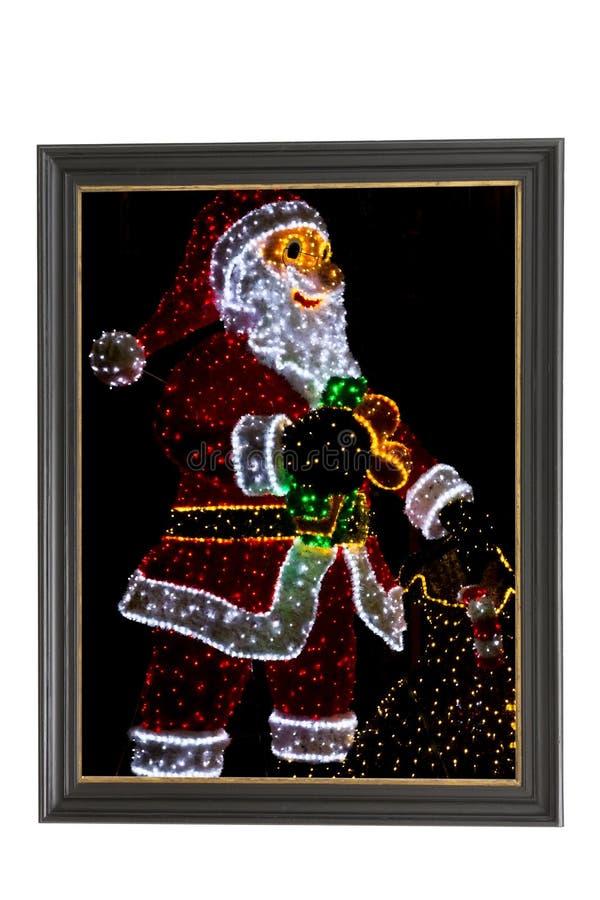 Kerstmis en nieuwe jaardecoratie stock illustratie